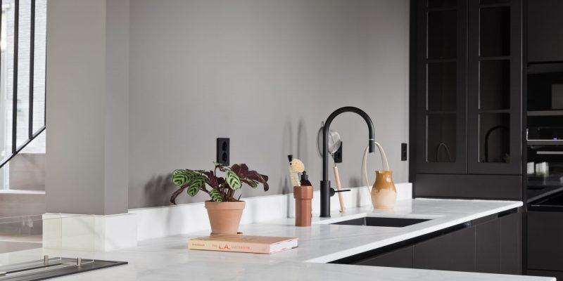 Naturstein i Oslo Macael marmor kjøkkenbenk- Stenprosjekt